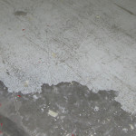 BEFORE - Polished Concrete