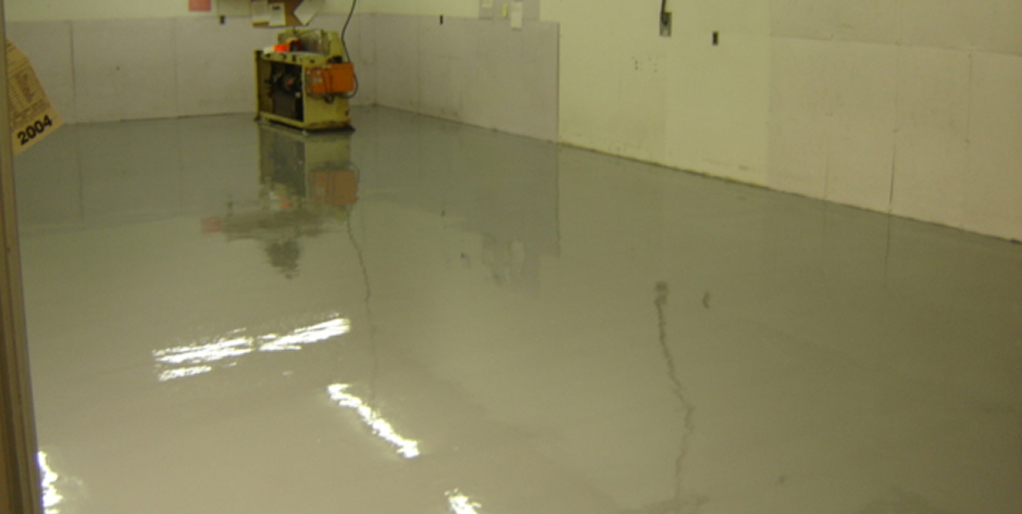 Self Leveling High Gloss Epoxy Floor System